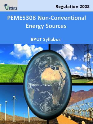 Non-Conventional Energy Sources - Syllabus