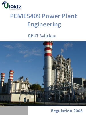 Power Plant Engineering - Syllabus