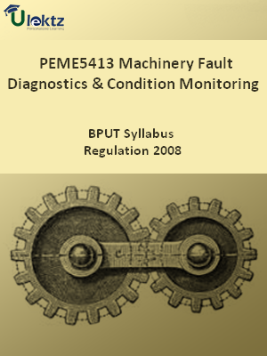 Machinery Fault Diagnostics And Condition Monitoring - Syllabus