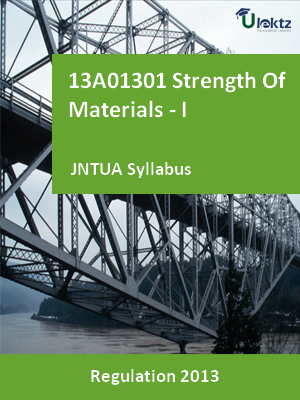 Strength Of Materials - I - Syllabus
