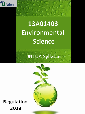 Environmental Science - Syllabus