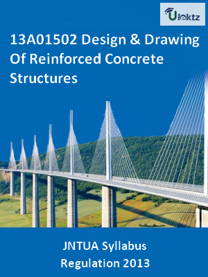 Design & Drawing Of Reinforced Concrete Structures - Syllabus