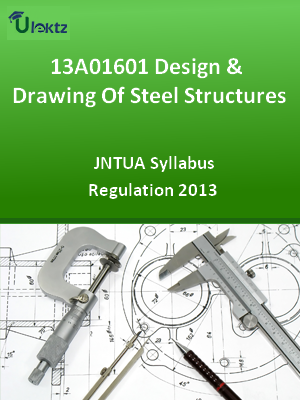 Design & Drawing Of Steel Structures - Syllabus