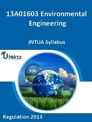 Environmental Engineering - Syllabus