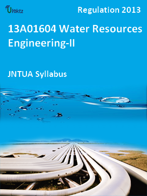Water Resources Engineering-II - Syllabus