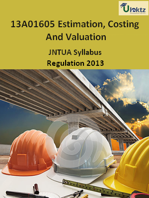 Estimation, Costing And Valuation - Syllabus