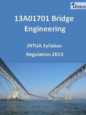Bridge Engineering - Syllabus