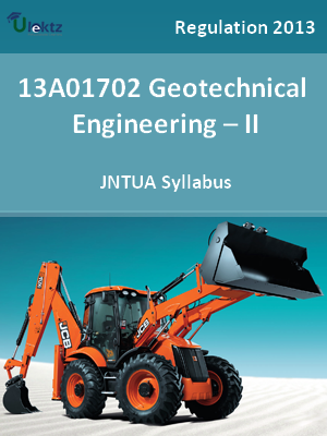 Geotechnical Engineering – II - Syllabus