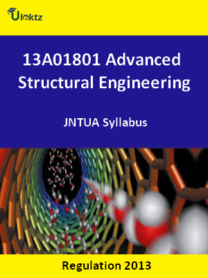 Advanced Structural Engineering - Syllabus