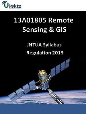 Remote Sensing & GIS - Syllabus