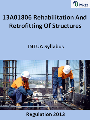 Rehabilitation And Retrofitting Of Structures - Syllabus