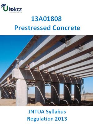 Prestressed Concrete - Syllabus