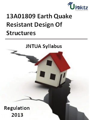 Earth Quake Resistant Design Of Structures - Syllabus