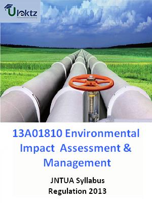 Environmental Impact Assessment & Management - Syllabus