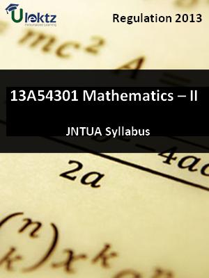 Mathematics – II - Syllabus