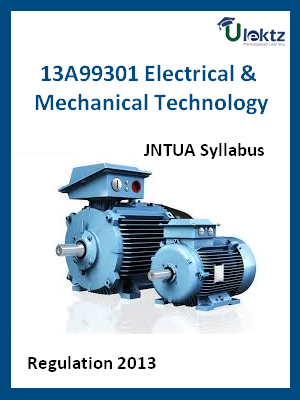 Electrical & Mechanical Technology - Syllabus
