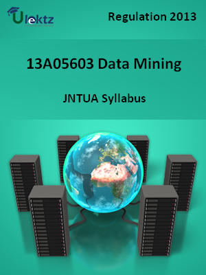 Data Mining - Syllabus
