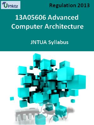 Advanced Computer Architecture - Syllabus