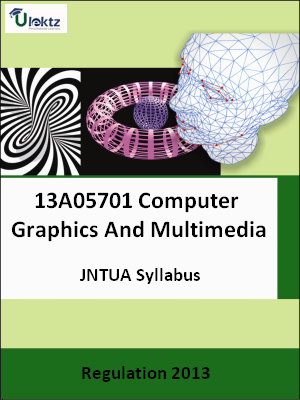 Computer Graphics And Multimedia - Syllabus