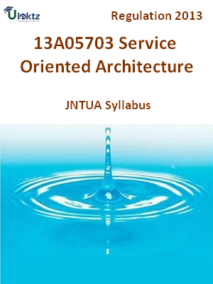Service Oriented Architecture - Syllabus
