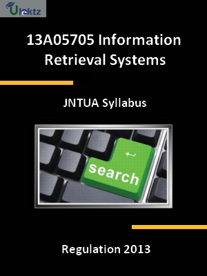 Information Retrieval Systems - Syllabus