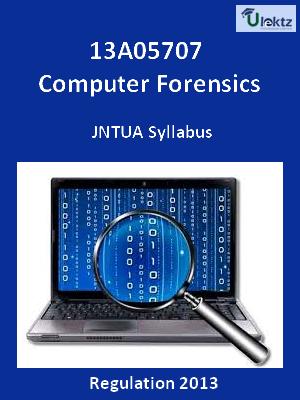 Computer Forensics - Syllabus