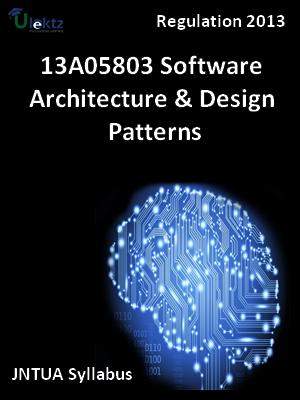 Software Architecture & Design Patterns - Syllabus