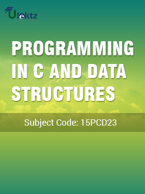Programming in C and Data Structures