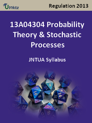 Probability Theory & Stochastic Processes - Syllabus