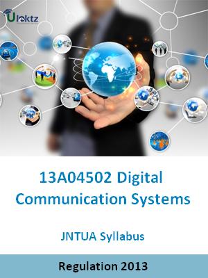 Digital Communication Systems - Syllabus