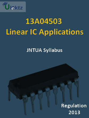 Linear IC Applications - Syllabus