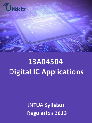 Digital IC Applications - Syllabus