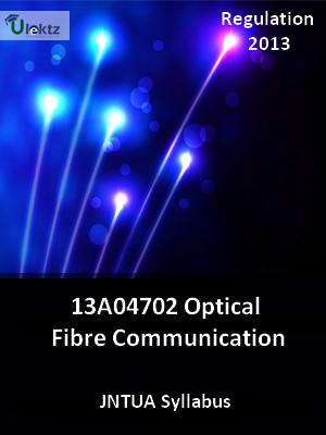 Optical Fibre Communication - Syllabus