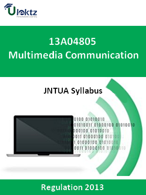 Multimedia Communication - Syllabus