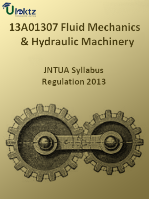 Fluid Mechanics And Hydraulic Machinery - Syllabus