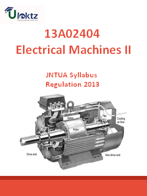 Electrical Machines – II - Syllabus