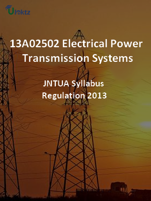 Electrical Power Transmission Systems - Syllabus