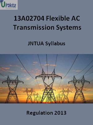 Flexible AC Transmission Systems - Syllabus