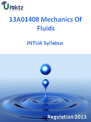 Mechanics Of Fluids - Syllabus
