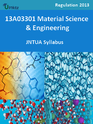 Material Science And Engineering - Syllabus