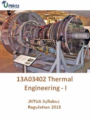 Thermal Engineering – I - Syllabus