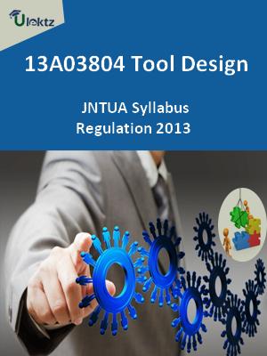 Tool Design - Syllabus