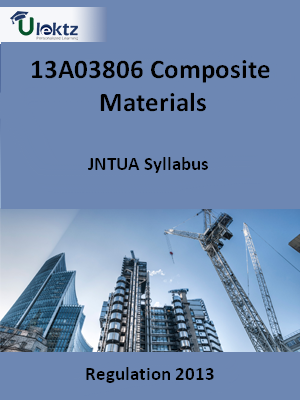Composite Materials - Syllabus