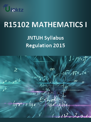 Mathematics – I - Syllabus