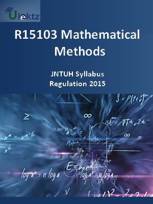 Mathematical Methods - Syllabus