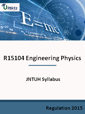Engineering Physics - Syllabus