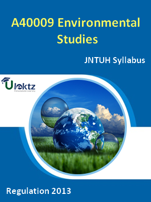 Environmental Studies - Syllabus