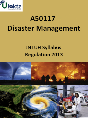 Disaster Management - Syllabus