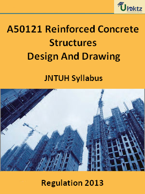 Reinforced Concrete Structures Design And Drawing - Syllabus