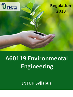Environmental Engineering  - Syllabus